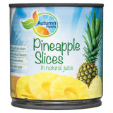 Autumn Fields Pineapple Slices in Natural Juice 425g , Grocery-Can or Jar - HFM, Harris Farm Markets  - 1