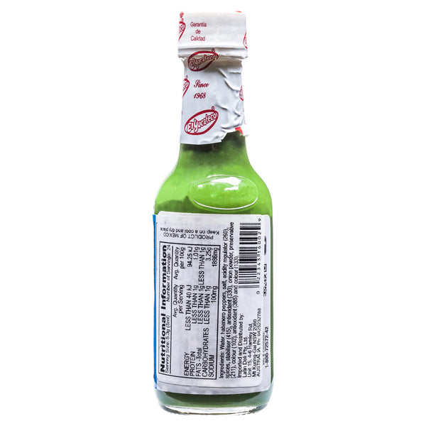 El Yucateco Hot Green Sauce 120ml , Grocery-Cooking - HFM, Harris Farm Markets  - 2