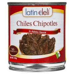 Latin Deli Chiles Chipotles Adobo Sauce 215g , Grocery-Antipasti - HFM, Harris Farm Markets  - 1