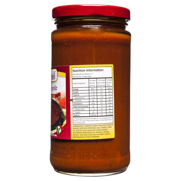 Latin Deli Salsa Chipotles Authentic Mexican Style 345g , Grocery-Can or Jar - HFM, Harris Farm Markets  - 2