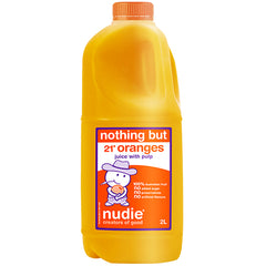 Nudie - Fresh Orange Juice (with Pulp) | Harris Farm Online