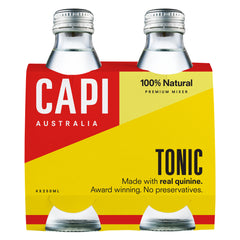 Capi - Tonic Water (4 Glass Bottles X 250mL)