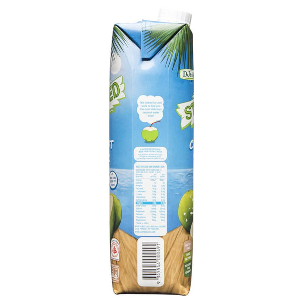 Dja Stripped Coconut Water 1L , Grocery-Drinks - HFM, Harris Farm Markets  - 2