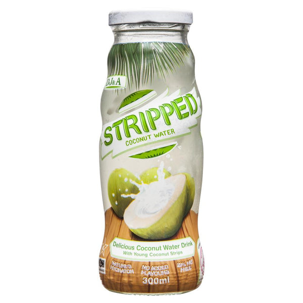 Dja Stripped Coconut Water 300mL , Grocery-Drinks - HFM, Harris Farm Markets  - 1
