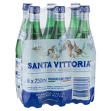 Santa Vittoria Sparkling Water 6 X 750ml , Grocery-Drinks - Harris Farm Markets, Harris Farm Markets  - 1