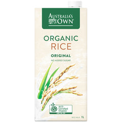 Australia's Own - Organic Rice Milk - Original | Harris Farm Online