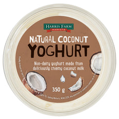 Harris Farm - Yoghurt Coconut Vegan (350g)