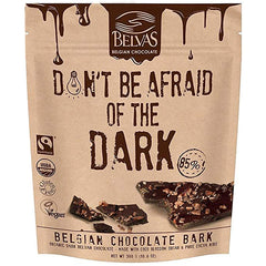 Belvas Organic Dark 85% Belgian Chocolate Don't Be Afraid of the Dark | Harris Farm Online