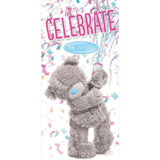 Fantastick Milk Chocolate 3D Teddy Let's Celebrate | Harris Farm Online
