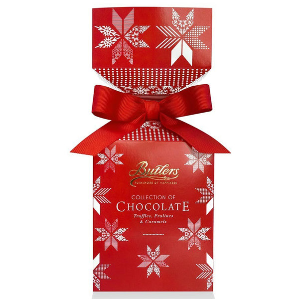 Butlers Collection of Chocolate Yuletide Cracker | Harris Farm Online