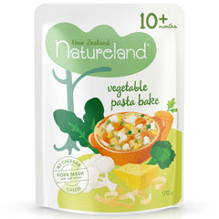 NZ Natureland - Baby Food - Vegetable Pasta Bake | Harris Farm Online