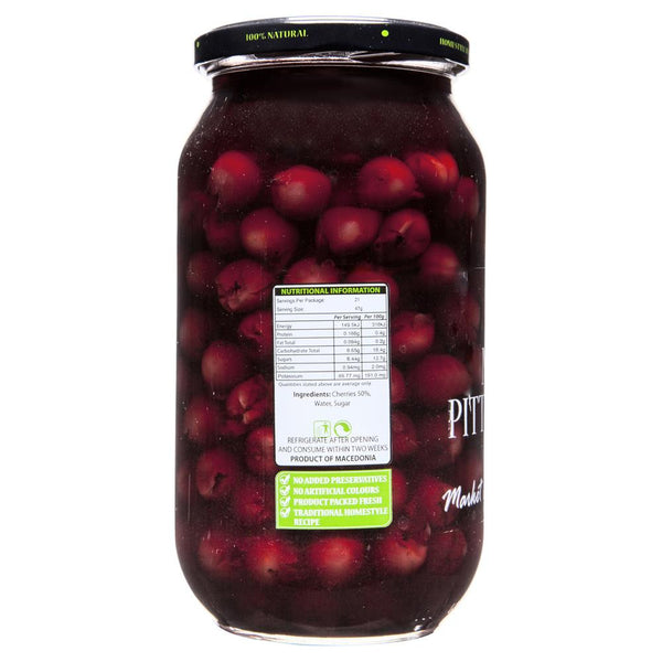 Market Grocer Morrello Pitted Cherries 1kg , Grocery-Antipasti - HFM, Harris Farm Markets  - 2