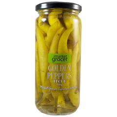 The Market Grocer - Golden Peppers Hot (500g)