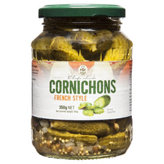 Pgf Chefs Choice Cornichons 350g , Grocery-Antipasti - HFM, Harris Farm Markets  - 1