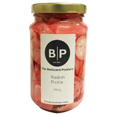 The Backyard Picklery - Radish Pickle (380g)