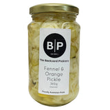 The Backyard Picklery - Pickled Fennel and Orange (360g Drained)