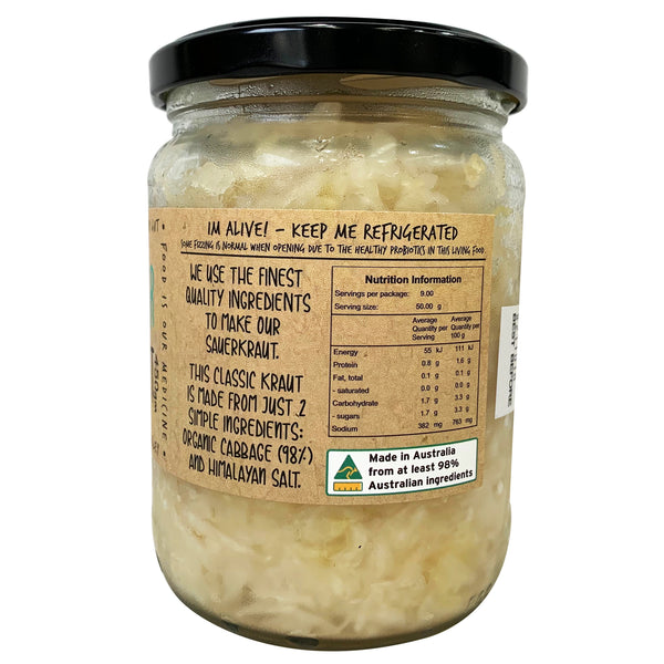 Bottled Culture - Sauer Kraut (450g)