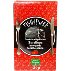 Fish4Ever - Sardines - In Organic Tomato Sauce (120g)