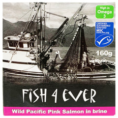 Fish4Ever - Pink Salmon - In Brine (160g)