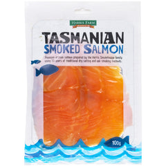 Salmon - Tasmanian Smoked (100g) Harris Farm