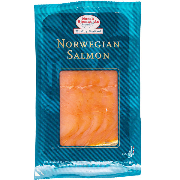 Salmon - Norwegian Smoked PreSliced (100g) Norsk