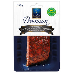 Huon Tasmanian Blackened Spice Wood Roasted Salmon | Harris Farm Online