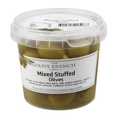 The Olive Branch - Antipasto Olives - Mixed Stuffed (335g)