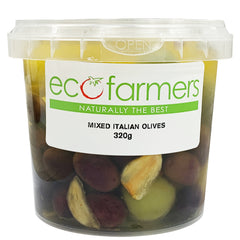 Eco Farmers Mixed Italian Olives | Harris Farm Online