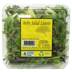 Salad - Baby Salad Mixed Leaves - Prepack (120g)