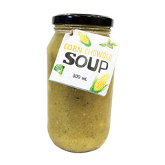Harris Farm - Corn Chowder - Basil Leek (500mL)