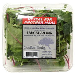 Salad - Baby Asian Mix - Prepack (120g)