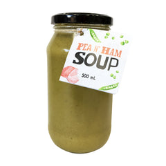 Harris Farm - Soup - Green Peas, Spinach and Ham (500mL)