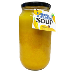 HFM Soup Jar - Pumpkin and Carrot Soup (1L)
