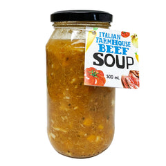 HFM Soup Jar - Italian Farmhouse Beef Soup (500mL)
