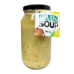 Harris Farm Soup Chicken and Sweet Corn 500ml