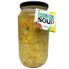 Harris Farm Soup Jar - Chicken & Sweet Corn Soup | Harris Farm Online
