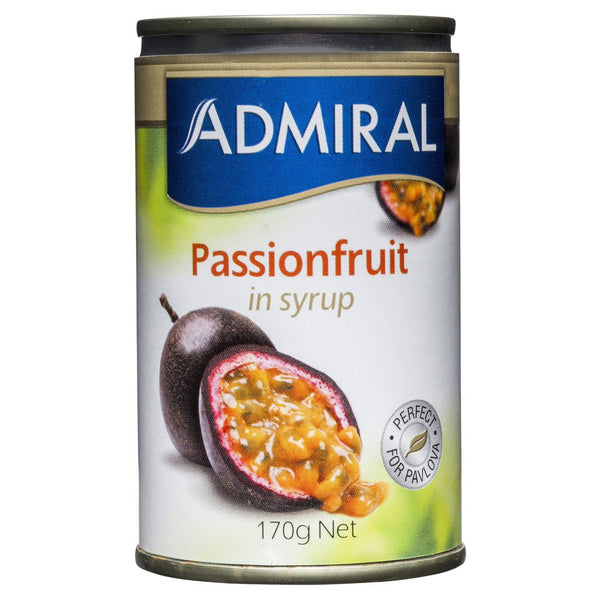 Admiral Passionfruit in Syrup 170g , Grocery-Can or Jar - HFM, Harris Farm Markets  - 1