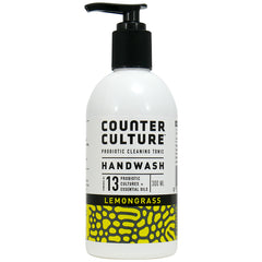 Counter Culture - Handwash Pump - Lemongrass - Probiotic Cleaning Tonic (300mL)