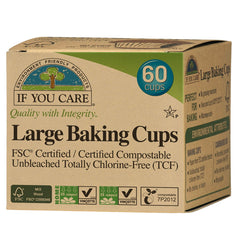 If You Care Large Baking Cups 60 Cups | Harris Farm Online