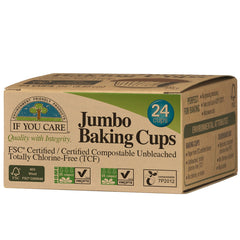 If You Care Jumbo Baking Cups 24 Cups | Harris Farm Online