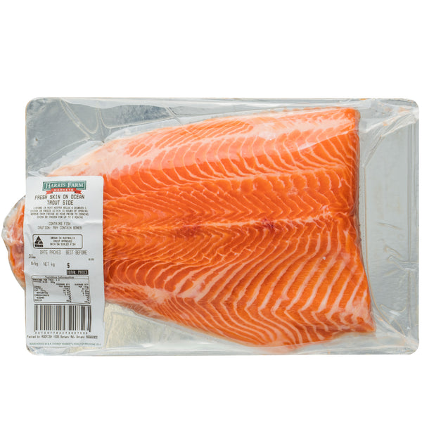 Harris Farm Fresh Skin On Ocean Trout Side | Harris Farm Online