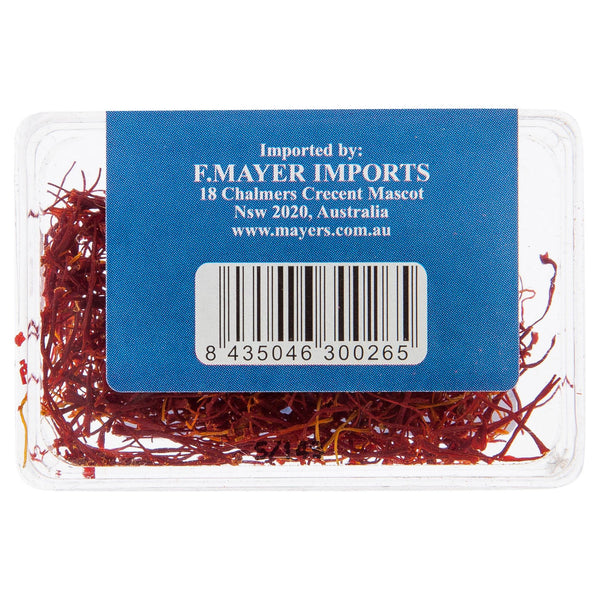 F Mayer Saffron Threads 1g , Grocery-Cooking - HFM, Harris Farm Markets  - 3