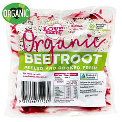 Love Beets - Organic Beetroot - Peel and Cooked | Harris Farm Online