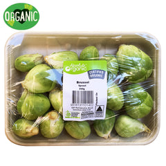 Brussels Sprouts Organic (min 250g)