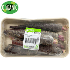 Carrots Purple Organic (500g)