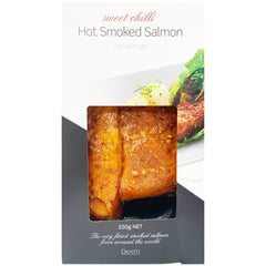 Salmon - Hot Smoked - Sweet Chilli (250g) Dansti