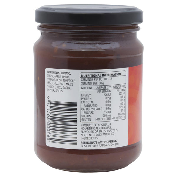 Outback Bush Tomato Chutney 285g , Grocery-Cooking - HFM, Harris Farm Markets  - 2