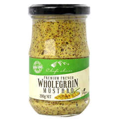 Chefs Choice - Mustard - Wholegrain (200g)