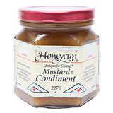 Honeycup - Sauce Mustard Condiment - Uniquely Sharp (227g)