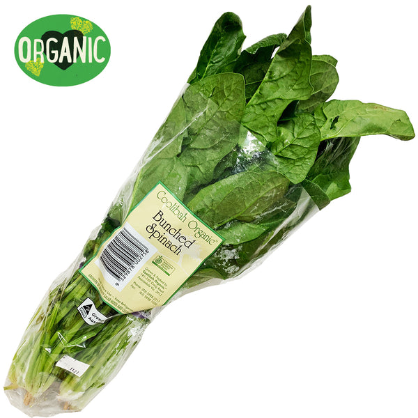 Spinach English Organic (bunch)